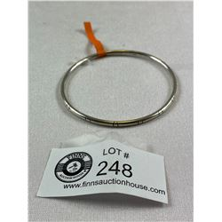 Sterling Silver Marked .925 Bangle