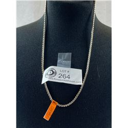 """Marked .925 18"""" Heavy Link Chain 18 gr"""