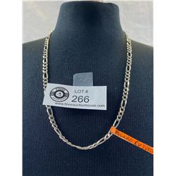"""Beautiful Figaro 20"""" 5mm Sterling Silver .925 Necklace 15 gr"""