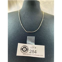 """.925 18"""" Snake Chain with Lobster Clasp"""