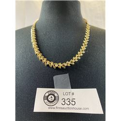 Lovely Signed Coro 60's Necklace. Very Elegant Style