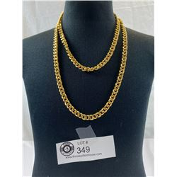 "Quality Heavy Gold Plated 36"" Necklace"