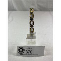 2 Tone Gabona Stainless Steel Bracelet