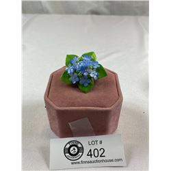 1950's Staffordshire China Floral Brooch