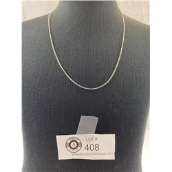 Nice Fine Sterling Silver Necklace/Chain