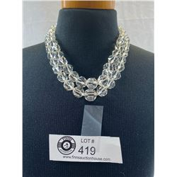 Quality Double Strand Austrian Crystal Necklace