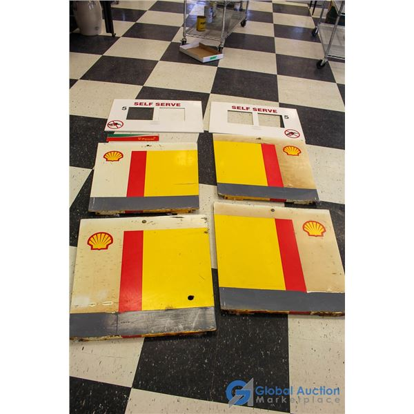 Shell v-Power Metal Gas Pump Covers