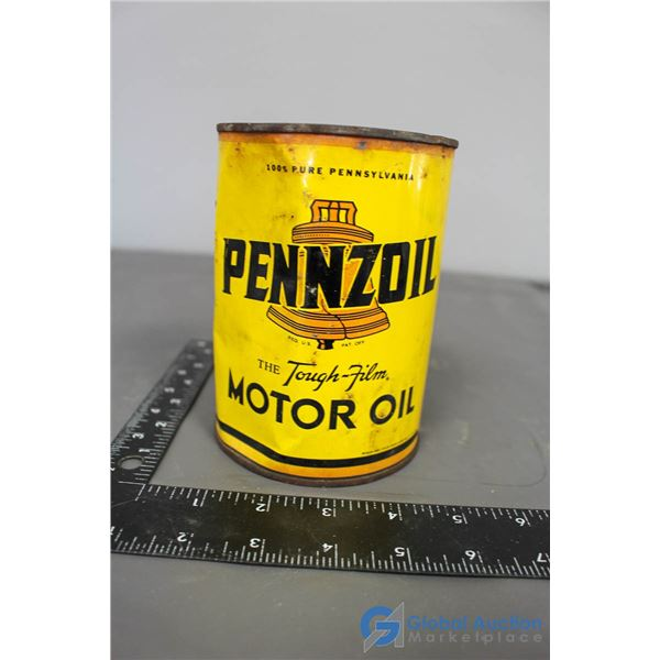 Pennzoil Motor Oil Can