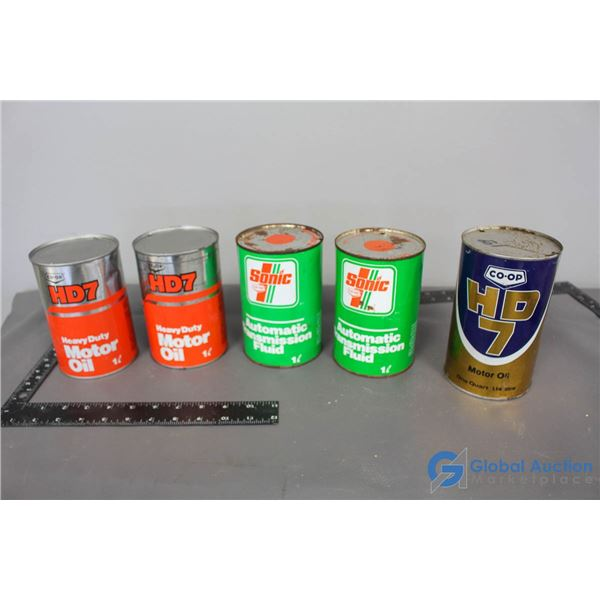 (5) Co-op Cans