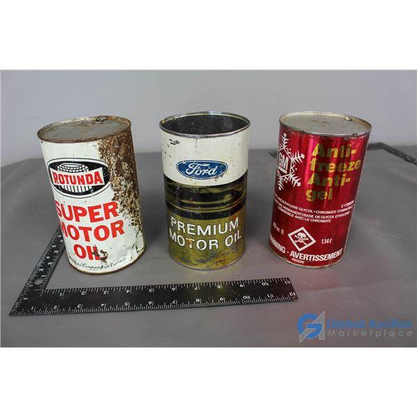 Ford, GM & Rotunda Cans
