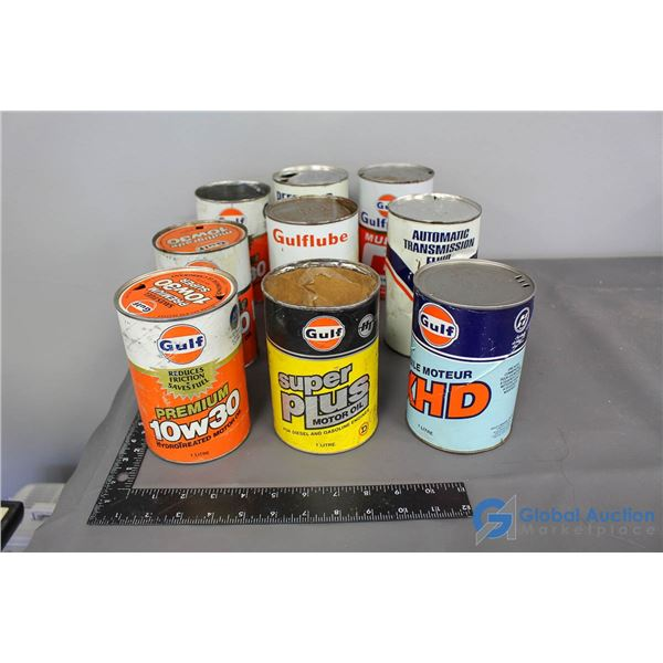 (9) Gulf Cans