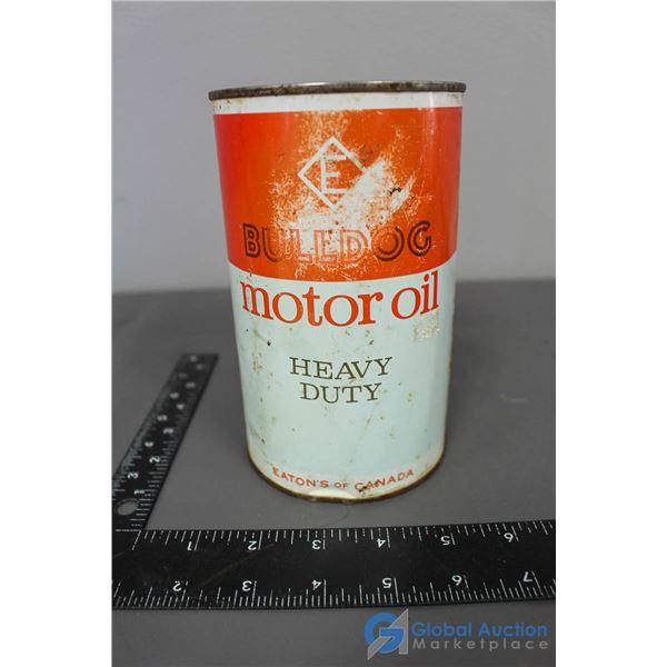 Bulldog Motor Oil Heavy Duty Eaton's of Canada Can