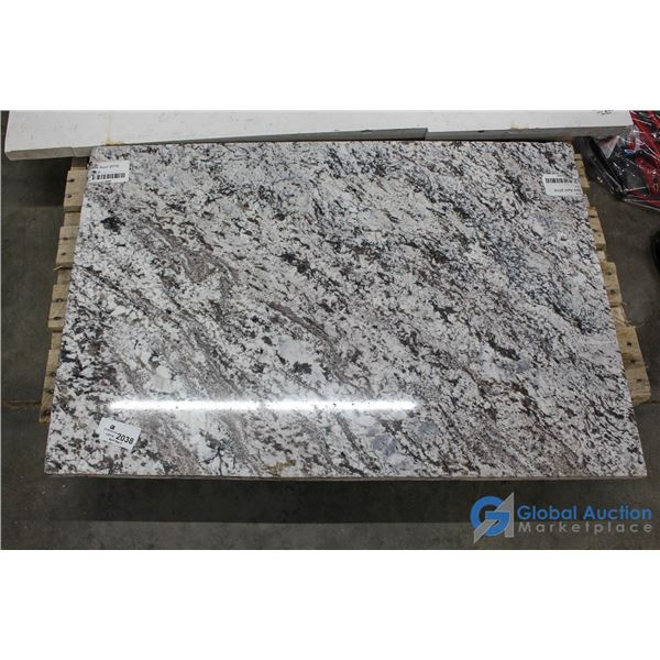 **Gray Marble Slab