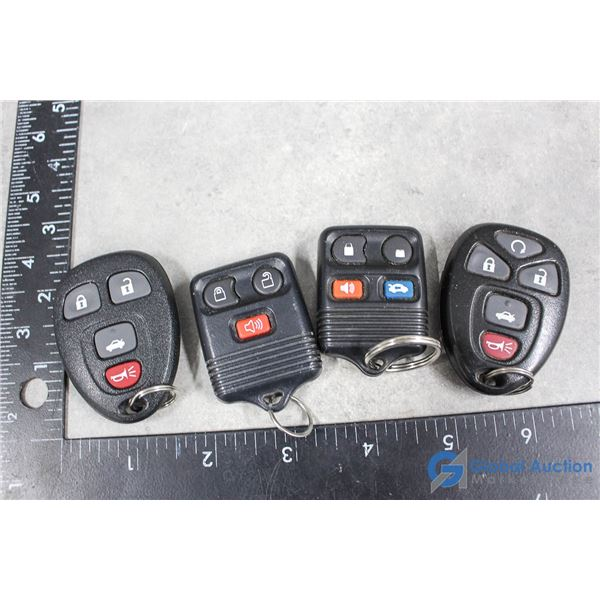 (2) Ford Fobs & (2) GM Fobs