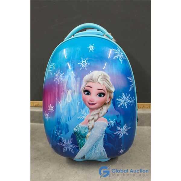 Disney Elsa Hard Cover Children's Suitcase