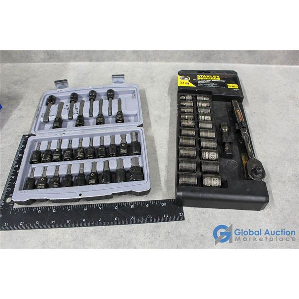 Stanley Mechanic Tool Set & Bit Socket Set