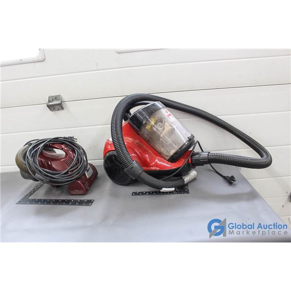 Shark & Bissel Vacuums - Working