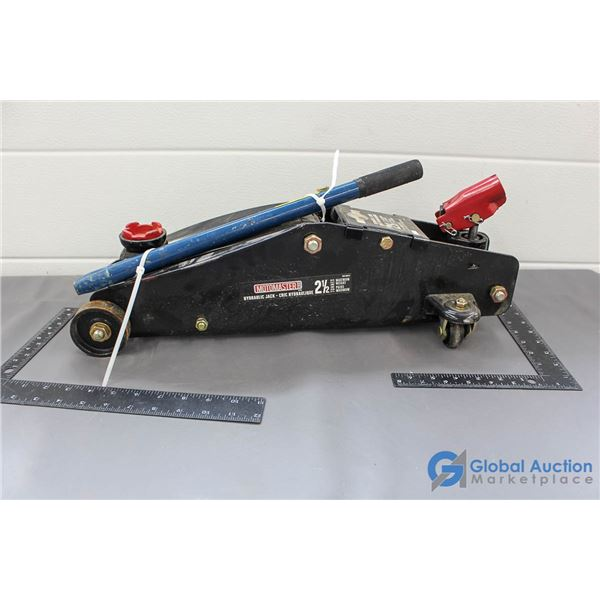 Motomaster 2.5 Ton Floor Jack w/Handle