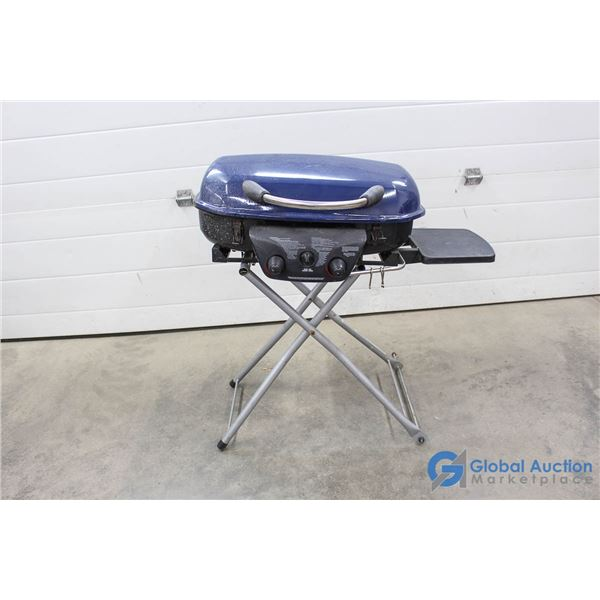 Folding Portable BBQ - Missing Hose & Wheels