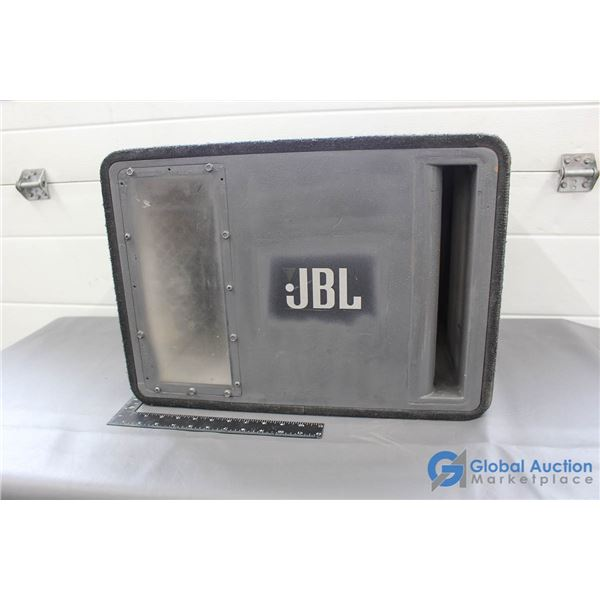 """Approximately 10"""" JBL Sub in Box - No Amp"""
