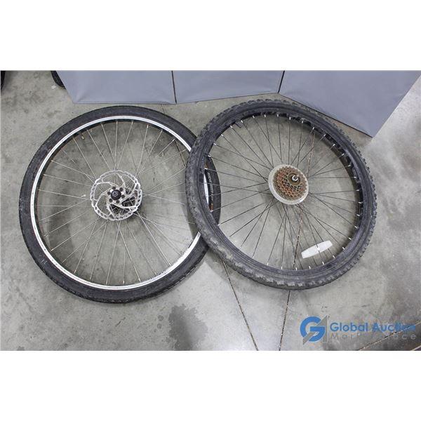 **(2) Misc Bike Tires