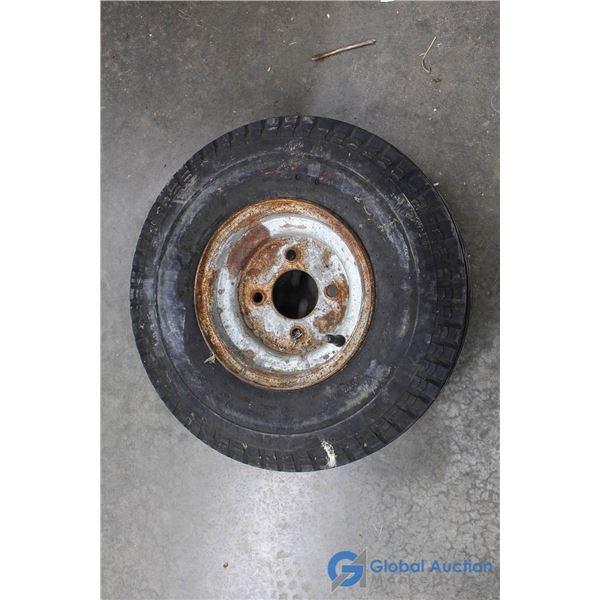 (1) Trailer Tire
