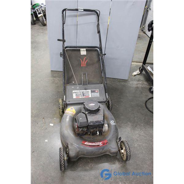MTD Lawnflite Lawn Mower - Running