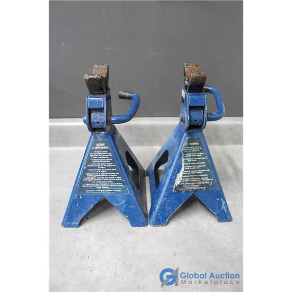 A Pair of 2 Ton Jack Stands