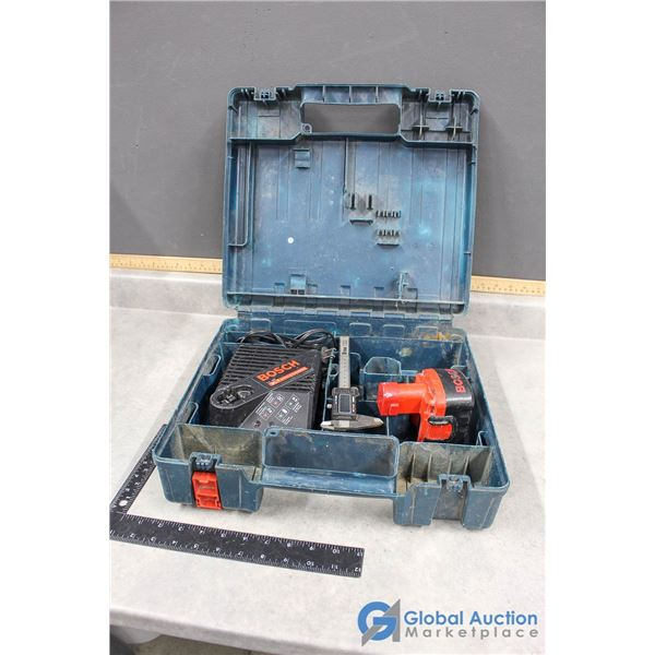 Bosch Battery & Charger in Case