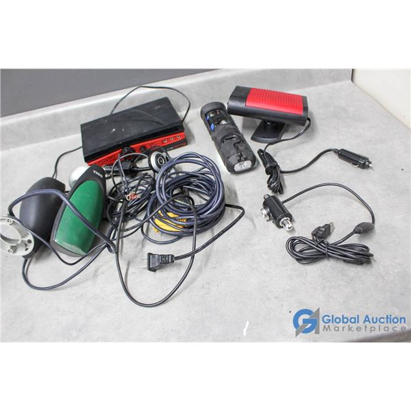Various Audio Cords & Adapters