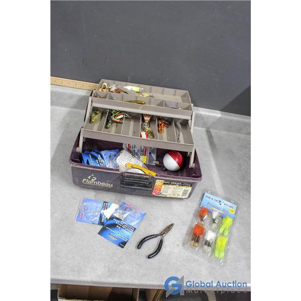 Flambeau Fishing Tackle Box w/Contents