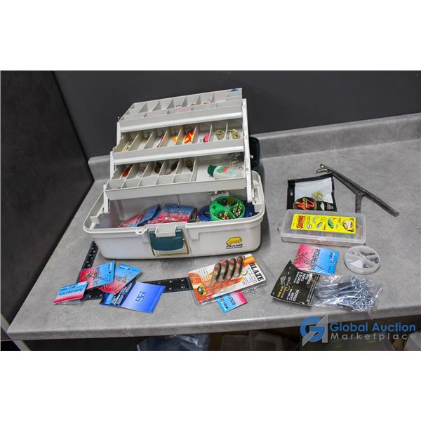 Planco Fishing Tackle Box w/Contents