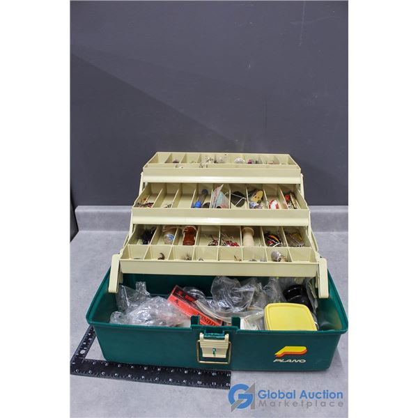 Planco Fishing Tackle Boxes w/Contents