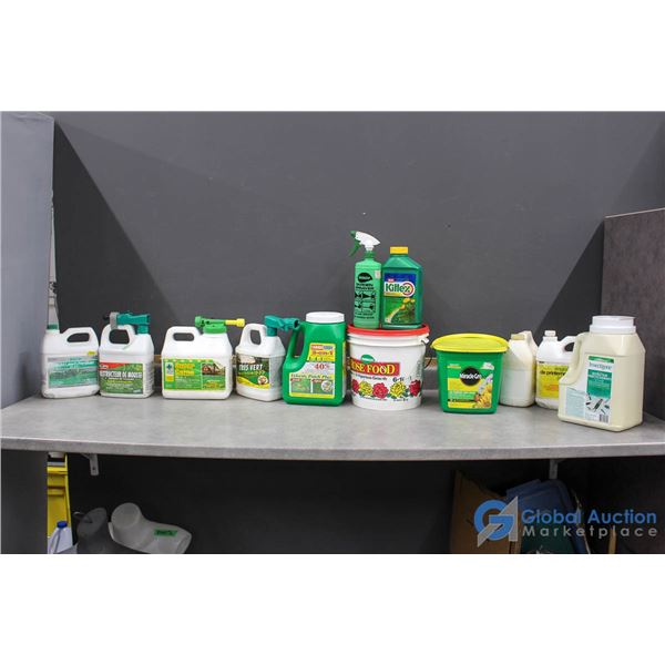Assorted Lawn Products