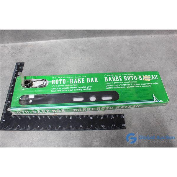 Lawnmower Roto Rake Bar