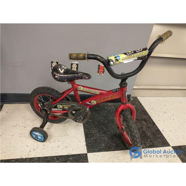 """Child's 12"""" Nakamura Bike w/Training Wheels"""