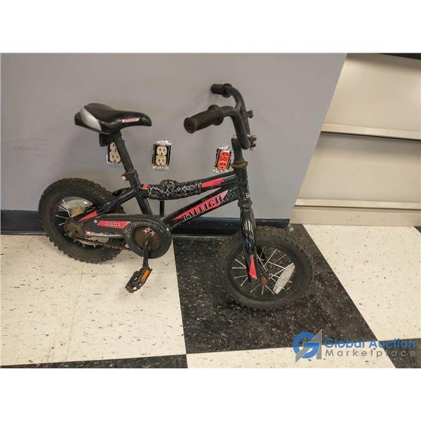 """Child's 12"""" Raleigh Sonic Bike"""