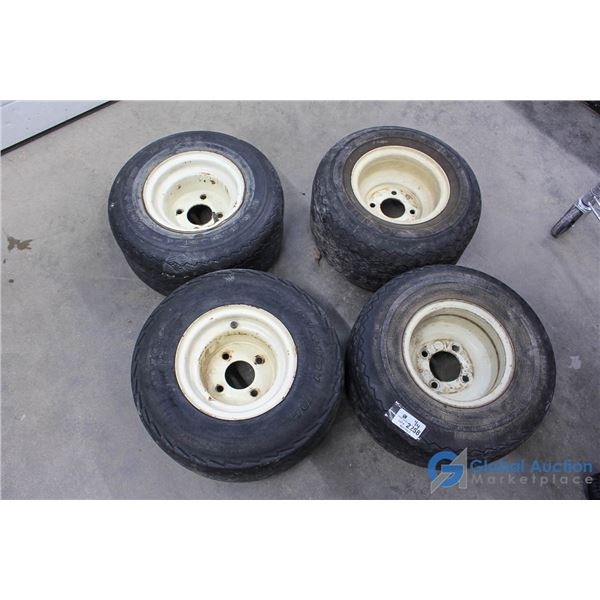 Set of (4) Golf Cart Tires