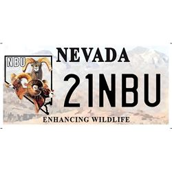 NBU Nevada License Plates (NBU21)