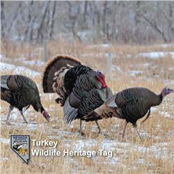 2 Heritage Turkey Tags for 2021 Season
