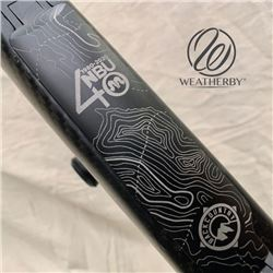 NBU 40th Anniversery Weatherby Custom Mark4 Backcountry TI rifle 6.5RPM + Vortex Viper scope