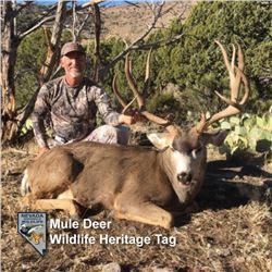Heritage Mule Deer Tag