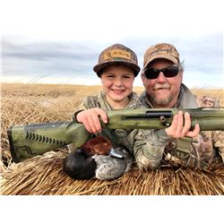 Nevada Youth Waterfowl Hunt for 2 Hunters at the Canvasback Gun Club and 2 Benelli Shotguns