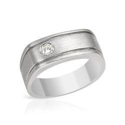 Natural 0.19 CTW Diamond Band Ring DIAMOND 14K Gold - REF-99H9W