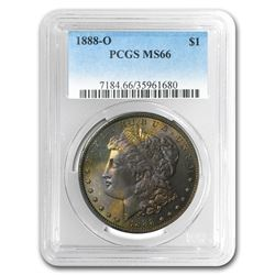 1888-O Morgan Dollar MS-66 PCGS (Toned)