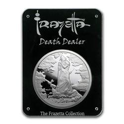 2 oz Silver Proof Round - Frank Frazetta (Death Dealer lll)