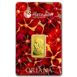10 gram Gold Bar - The Perth Mint Oriana Design (In Assay)