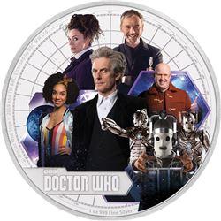 2017 Niue 1 oz Silver $2 Doctor Who Season 10