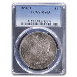 1881-O Morgan Dollar MS-65 PCGS