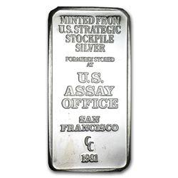 5 oz Silver Bar - U.S. Assay Office